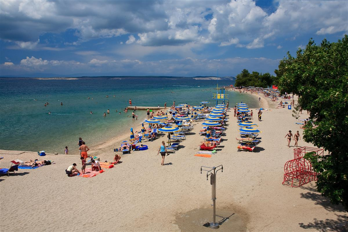 Crikvenica main city beach